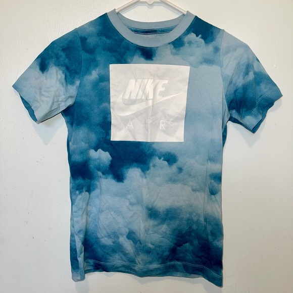 Nike Blue Tie dye Tee